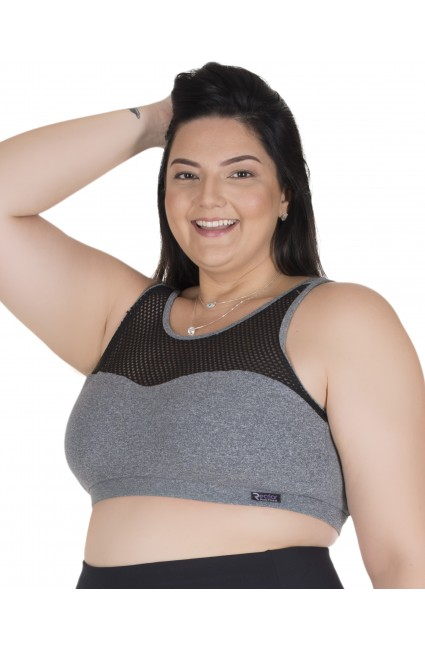 top-kitty-fitness-plus-size-com-tela-cinza-com-preto